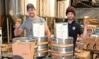 Stuart Byers & Matthew Bennett from Six Degrees North Brewery in Laurencekirk