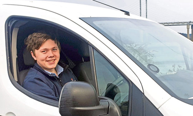 Thomas Eccles, managing director of Kingussie firm Courier Crew.