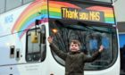 Nine-year-old Adam Foster from Aberdeen