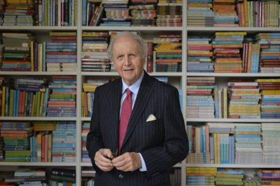 No.1 Ladies' Detective Agency author Alexander McCall Smith.