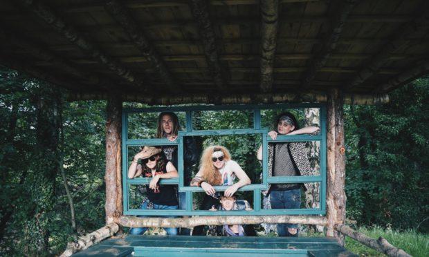 Moray rock band Bad Actress.
