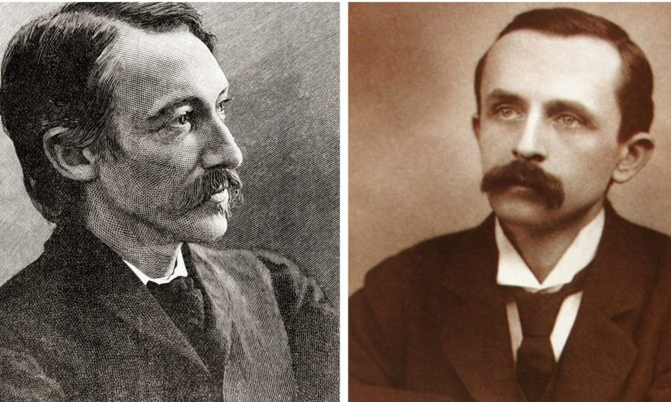 Robert Louis Stevenson and JM Barrie.