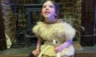 Bonnie, six, playing a shepherd in The Lockdown Nativity.