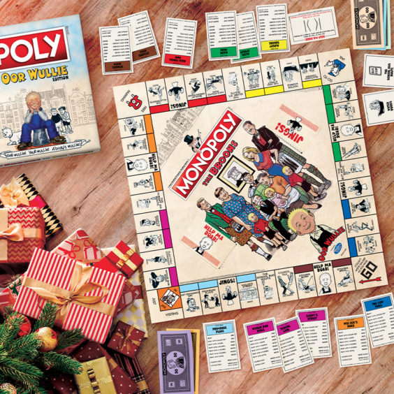 Broons and Oor Wullie Monopoly