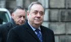 Alex Salmond with friend and ally Campbell Gunn, who are at the centre of the debate over government secrecy