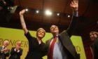 Nicola Sturgeon and Alex Salmond.