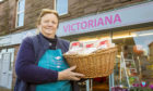 Carolyn Wilson from Victoriana Florist's in Alness wins a High Street Heroes Regional Winner Award