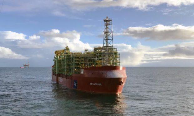 The FPSO for Premier Oil's Catcher field.