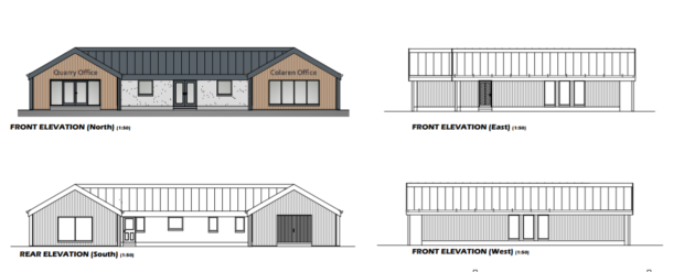 Colaren Homes have been granted planning permission to create a new environmentally-friendly office.