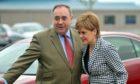 Alex Salmond and Nicola Sturgeon.