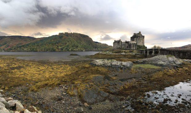 Eilean Donan castle  Photographer: Simon West