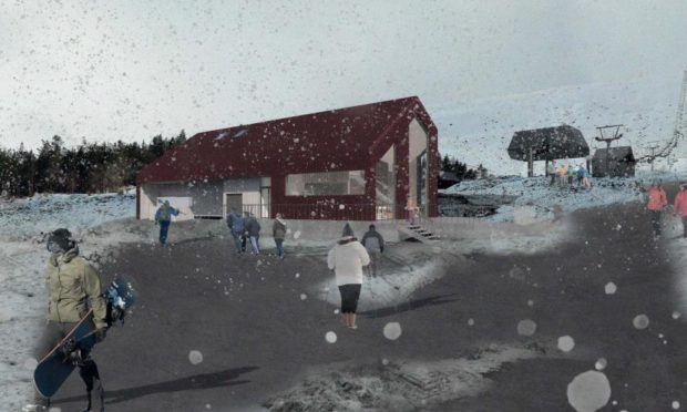 Glencoe Mountain Resort officials have lodged plans for a new base camp on site.