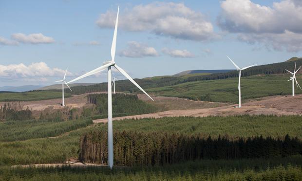 Halsary Wind Farm, near Caithness.