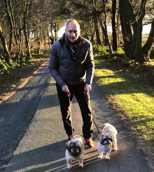 Jim Leighton took part in the December Daily Dash for Sue Ryder Dee View Court. Picture shows; Gothenburg Great Jim Leighton. Aberdeen. Supplied by Sue Ryder Dee View Court Date; 26/11/2020