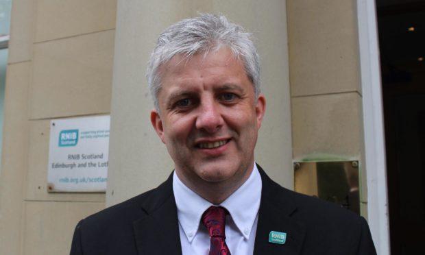 Director of RNIB Scotland James Adams.