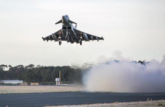 Personnel at RAF Lossiemouth will be on duty over Christmas