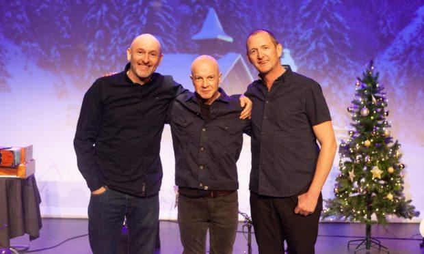 Michael McGoldrick, John McCusker and John Doyle.