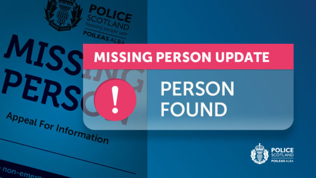Ronald Watson has been traced.