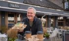 Nick Nairn at his restaurant in Bridge of Allan, near Stirling.
