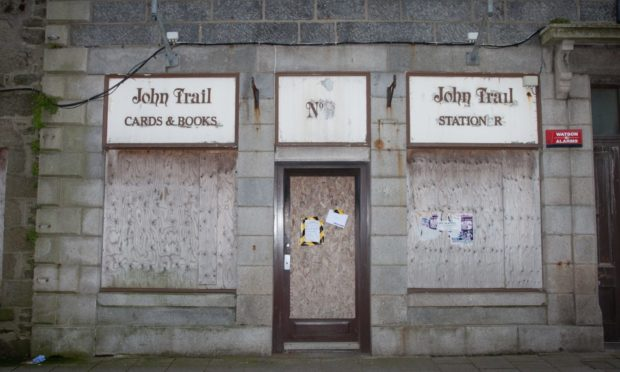 John Trail Cards and books shop in Fraserburgh.