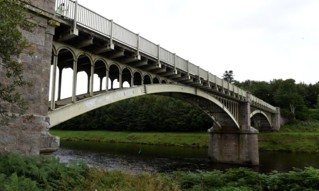Park Bridge, linking Durris and Drumoak, has been closed since February 2019.