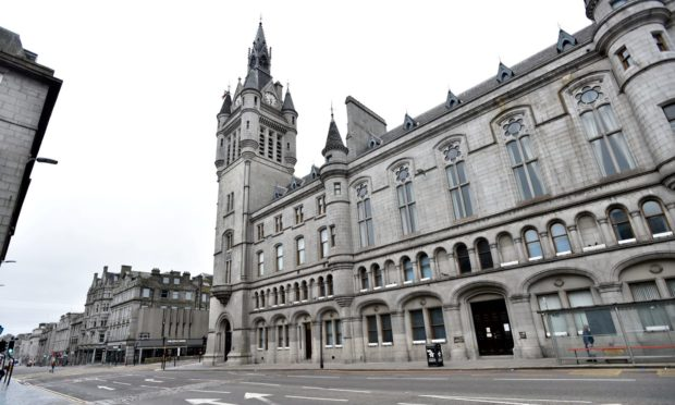 Aberdeen Sheriff Court. Picture by Darrell Benns.