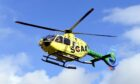 Scotland's Charity Air Ambulance Helimed 79 can often be spotted over Aberdeen and further afield.
