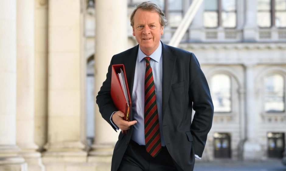 Secretary of State for Scotland Alister Jack.