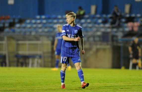 Lyall Cameron has enjoyed his loan spell with Peterhead