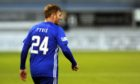 Fraser Fyvie was back in Cove Rangers colours.