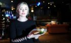 Bar supervisor Rebecca Greig at The Office / Halo Bar, Crown Street, Aberdeen.