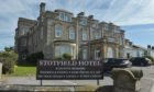 The Stotfield Hotel in Lossiemouth.
