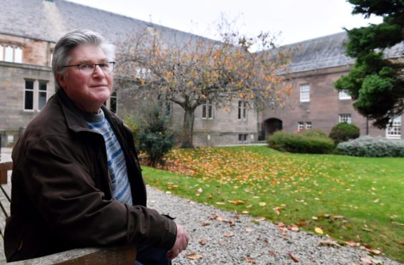 Former councillor and historian John Corall is furious about Aberdeen high rise flats being given listed building status. Picture by Kami Thomson / DCT Media         10-11-2020