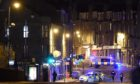 Police were called to Sinclair Road last night