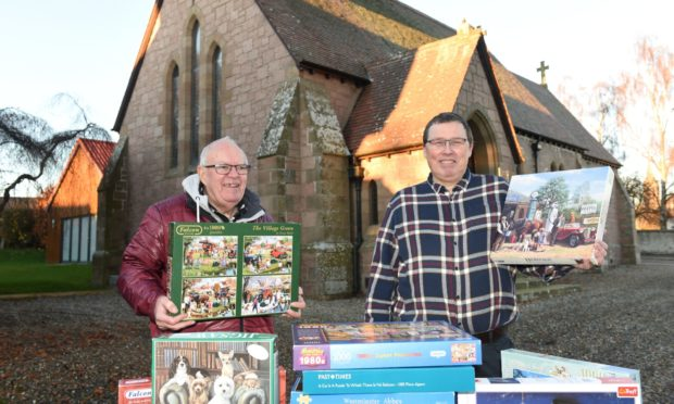Bob and Stuart Philip are asking people to donate 500 and 1000-piece jigsaws to support Macmillan Cancer Support.