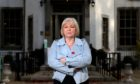 Director and owner Carol Fowler outside The Banchory Lodge Hotel. Picture by Scott Baxter.