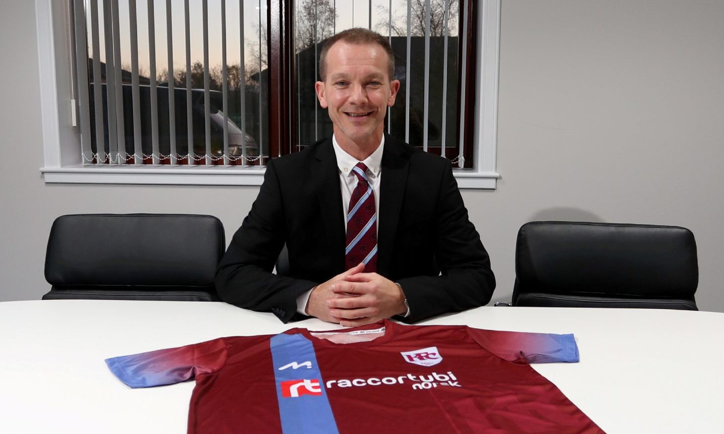New Keith manager Andy Roddie. Picture by Scott Baxter