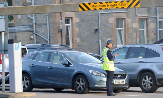 Motorists will receive free off street parking in Argyll towns including Oban during the Christmas rush.