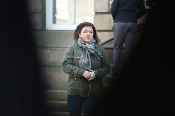 Kerry Thomas at Elgin Sheriff Court.
