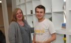 Shirley's Space founder Cameron Findlay with charity chairwoman Fiona Weir at their premises within Crimond Medical Hub.