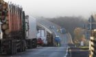 A lorry and car collided on the A9 at Dunbeath Bridge