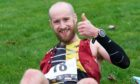 Chris Richardson won the men's race and smashed the Speyside Way 59km record time by five minutes.