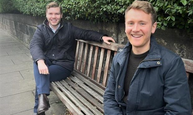 Co-founders David Steyn and Andrew Fyfe.