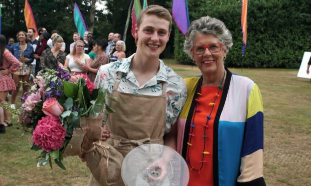Peter Sawkins has been crowned the winner of The Great British Bake Off.