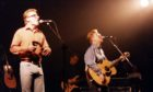 The Proclaimers on stage at the Aberdeen Capitol in October 1994.