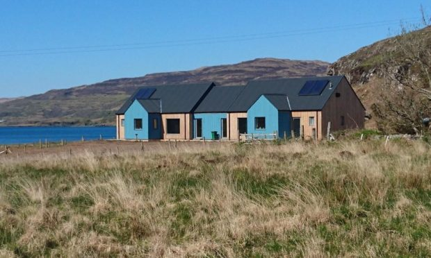 Affordable housing at Ulva Ferry, Mull