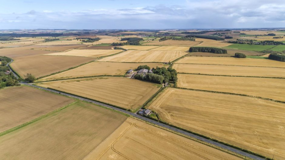 Uppermill Farm is for sale as a whole or in 10 lots.