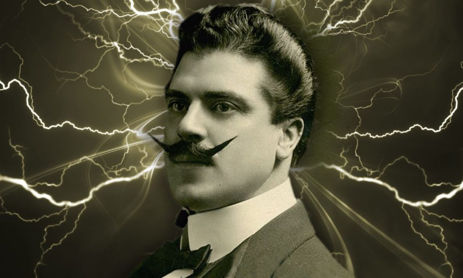 Walford Bodie, the 'Electric Wizard of the North' was given an electric chair by Harry Houdini.