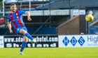 Scott Allardice scores to make it 2-1 Inverness against Arbroath
