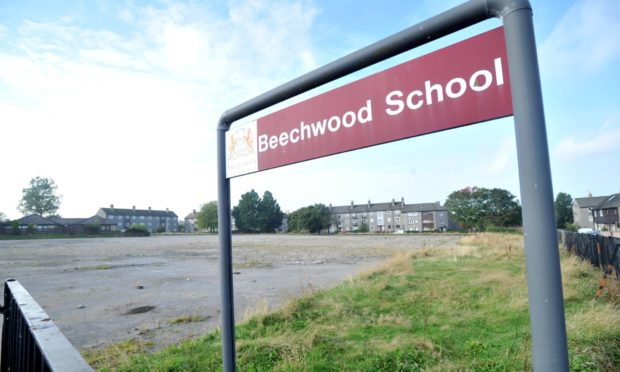 A consultation has been launched on plans for council housing on the site of the former Craighill/Beechwood School in Kincorth. Picture by Heather Fowlie.